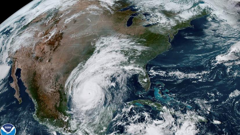 Ураган «Дельта» усилился до третьей категории
