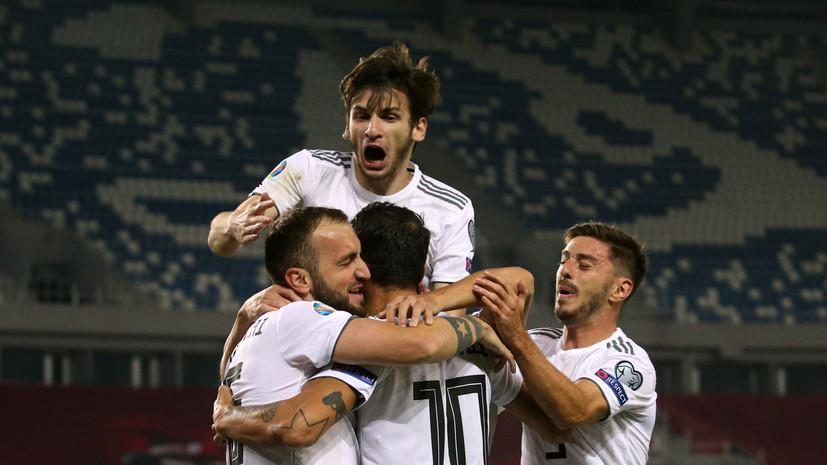 Три серии пенальти, победа Грузии над Белоруссией и успех Сербии: чем завершились полуфиналы отбора Евро-2020