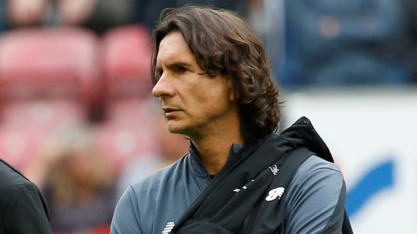 Бувач заявил, что не думал становиться главным тренером «Динамо»