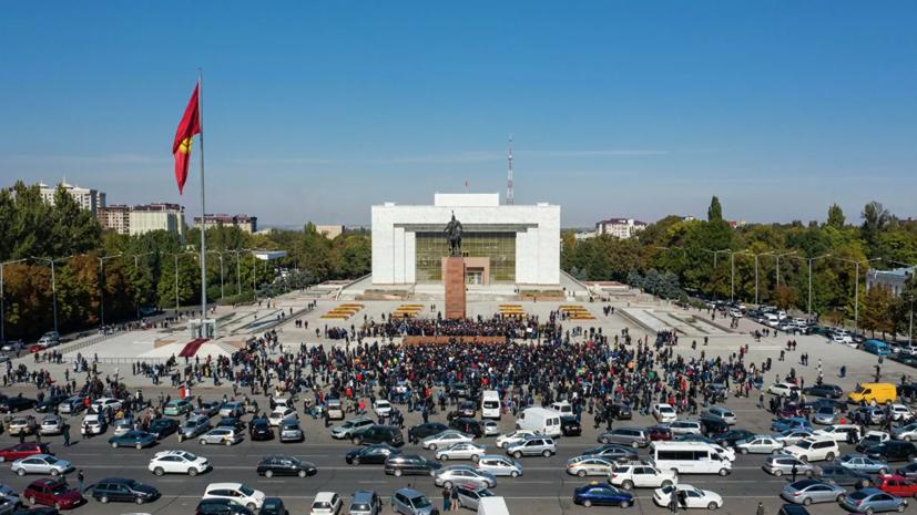 Песков заявил об «элементах хаоса» в Киргизии