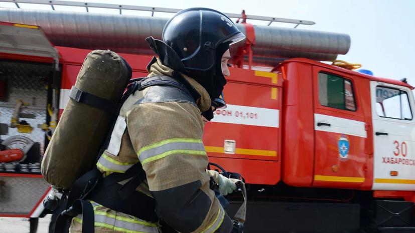 В Пензенской области от природного пожара загорелись четыре жилых дома