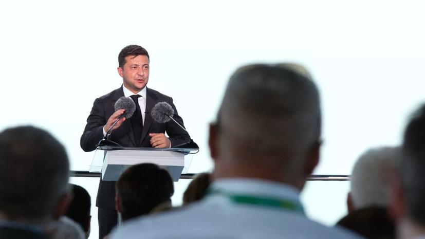 Верховный суд Украины обязал Зеленского говорить на украинском языке