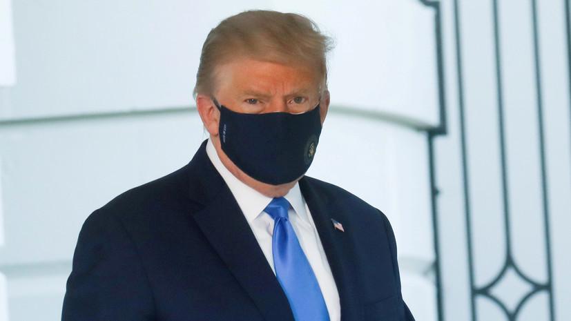 Трамп рассказал о повторном тесте на коронавирус
