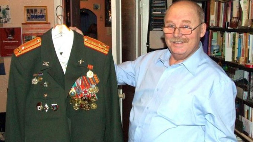 Высланный глава общества военных ветеранов Латвии попал в Россию