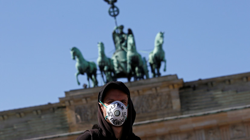 Число случаев коронавируса в Германии превысило 322 тысячи