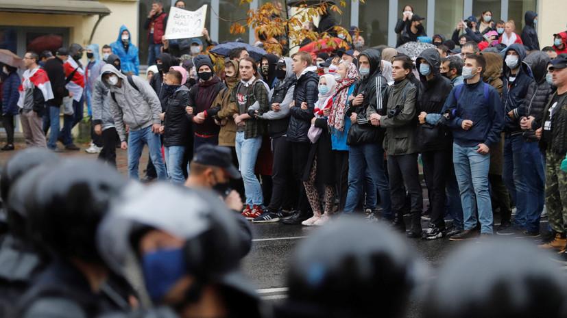 Спецтехника в центре города и применение водомётов: как прошли протесты в Минске