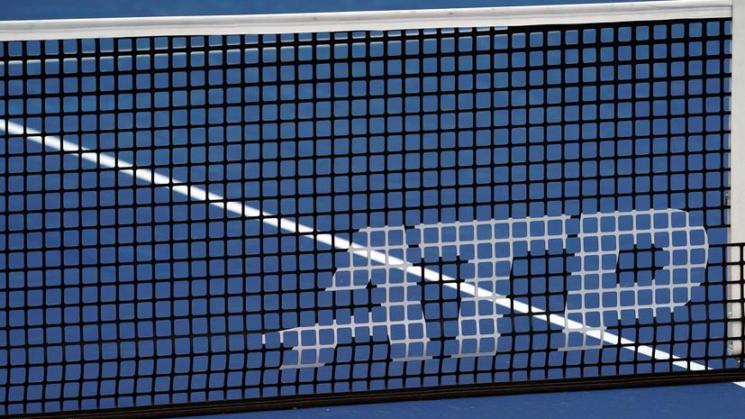 Один из участников теннисного турнира ATP в Санкт-Петербурге заболел коронавирусом