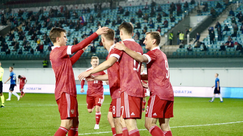 Молодёжная сборная России по футболу сдала тесты на COVID-19 перед матчем с Латвией