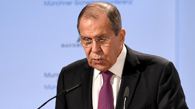 Лавров: бегать и унижаться перед ЕС ниже достоинства России