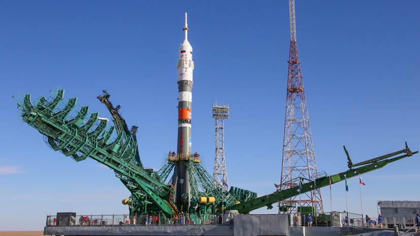 «Роскосмос» запустил ракету-носитель «Союз-2.1а» с символикой самбо