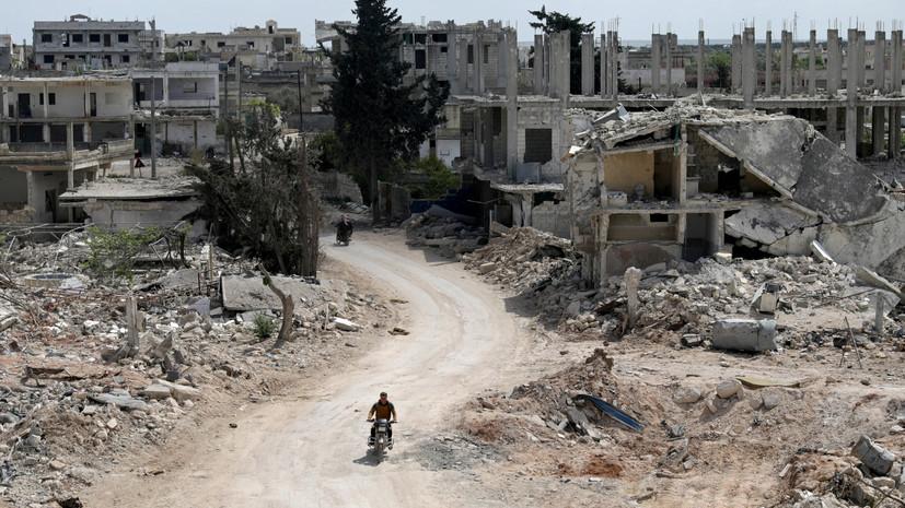Боевики погибли от удушья после подрыва склада с химвеществами в САР
