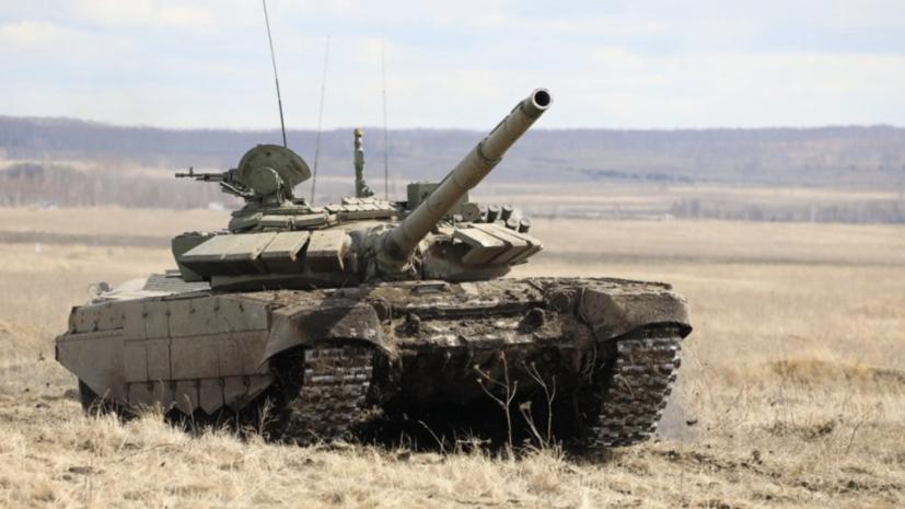 В Минобороны рассказали о модернизации танков Т-72Б3М и Т-80БВМ