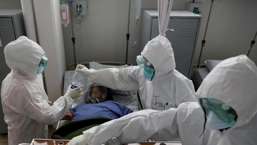 В Мексике число случаев коронавируса превысило 829 тысяч
