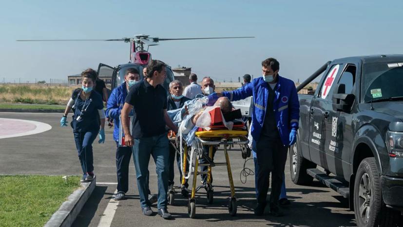 В Минздраве рассказали о состоянии раненного в Карабахе военкора