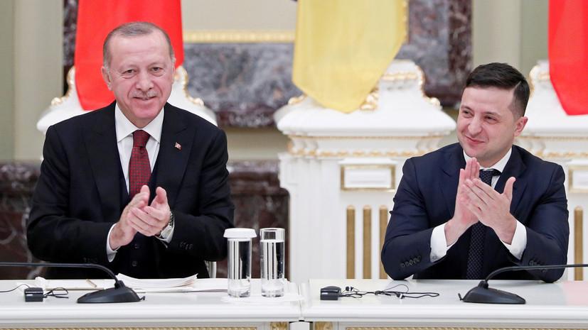 Зеленский намерен встретиться с Эрдоганом в Турции 16 октября