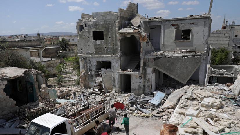 Террористы совершили 25 обстрелов в сирийском Идлибе за сутки