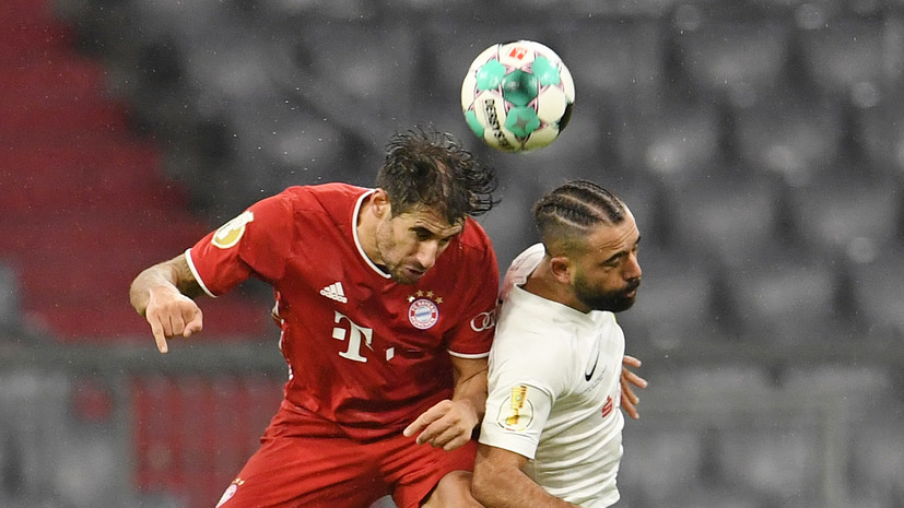 «Бавария» разгромила команду пятого дивизиона в Кубке Германии по футболу