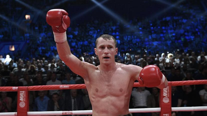 Российский боксёр Трояновский победил француза Гарридо в Минске