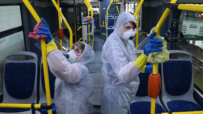 В пригородном транспорте Петербурга усилят санитарные меры