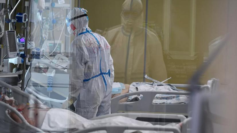 В России за сутки выявили 14 922 случая коронавируса