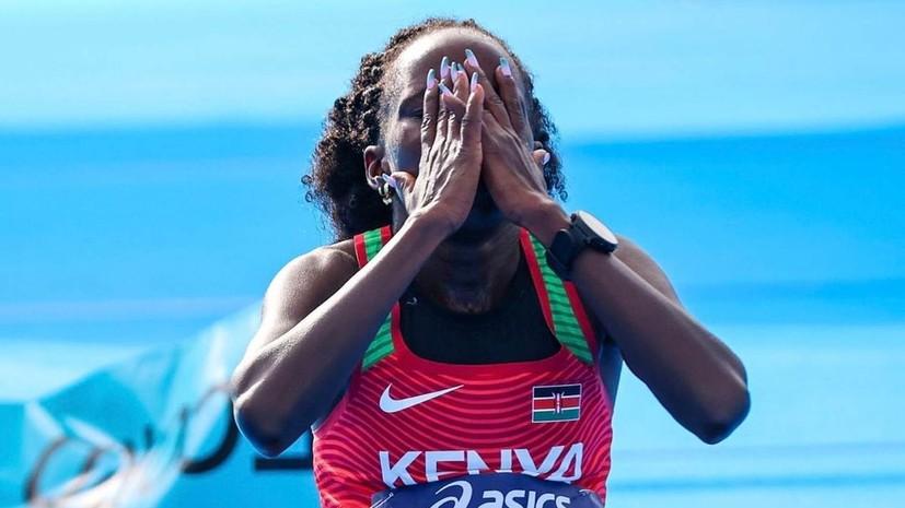 Кенийская легкоатлетка Джепчирчир установила новый мировой рекорд в полумарафоне