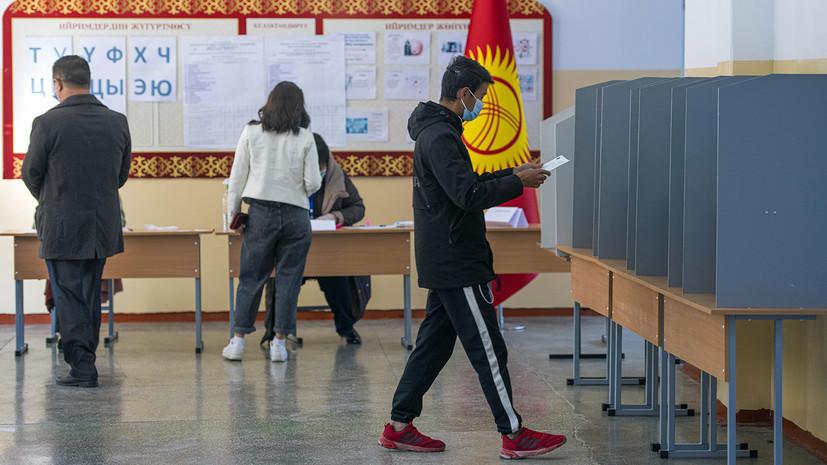 ЦИК Киргизии предложила дату повторных парламентских выборов