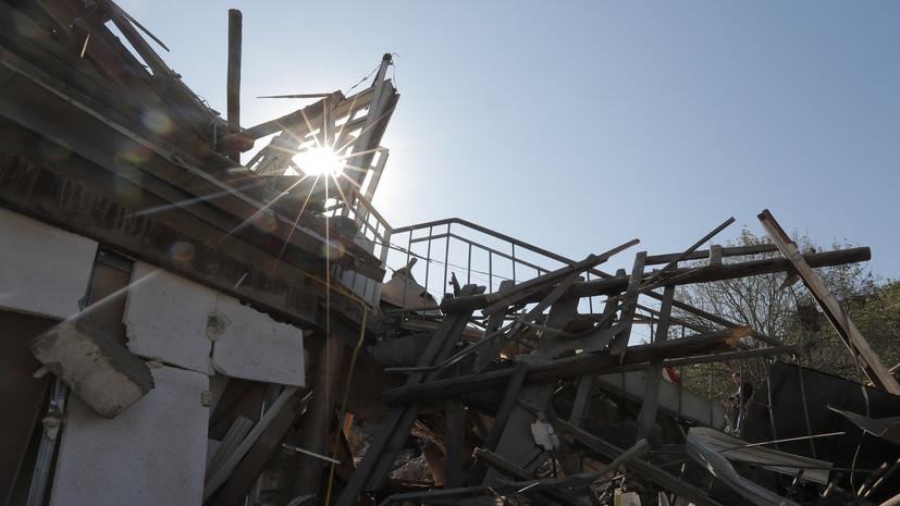 В Карабахе заявили о нарушении перемирия на линии соприкосновения