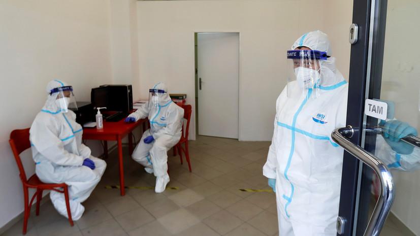 В Чехии за сутки выявили 8713 случаев коронавируса
