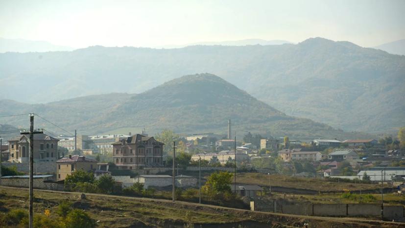 В окрестностях Степанакерта произошёл взрыв