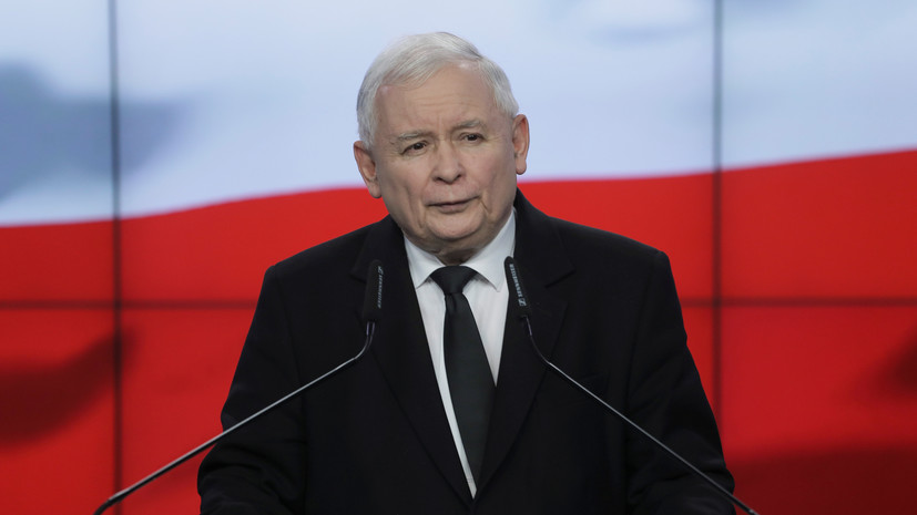 Качиньский ушёл в самоизоляцию после контакта с носителем COVID-19