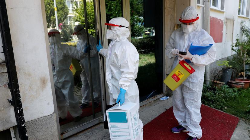 Число случаев коронавируса в Турции превысило 349 тысяч