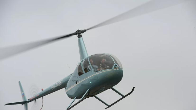 Вертолёт упал в реку в Вологодской области