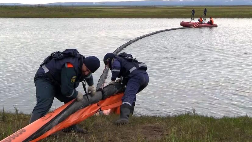 Эколог прокомментировал ситуацию с разливом нефтепродуктов в НАО