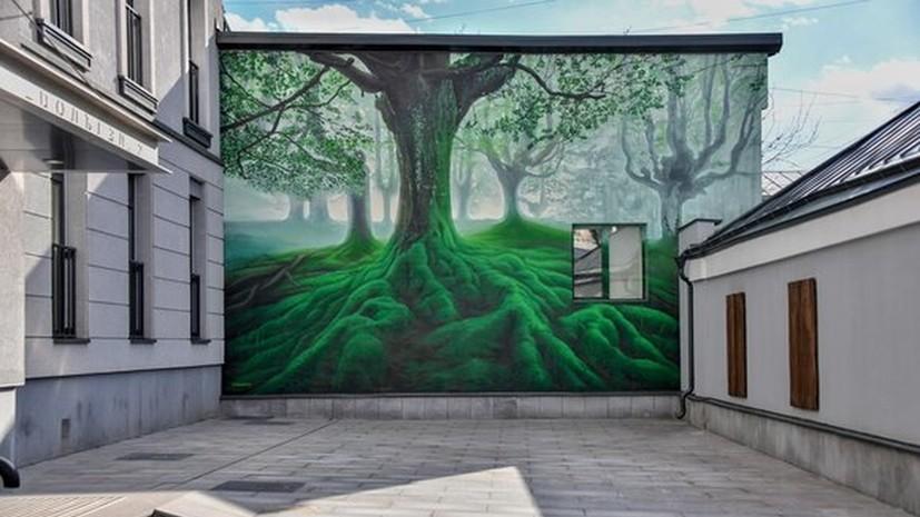 Фасады более 20 бывших зданий АТС в Москве украсят граффити