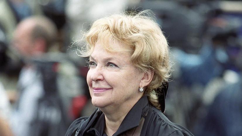 Василий Лановой поделился воспоминаниями об Ирине Скобцевой