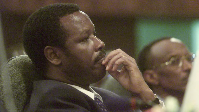 Экс-президент Бурунди осуждён пожизненно за убийство преемника