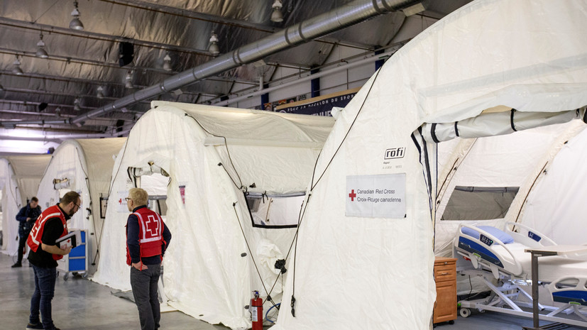 В Канаде число случаев заболевания коронавирусом превысило 203 тысячи