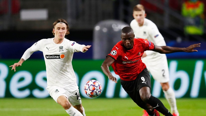 Олссон заявил, что в «Краснодаре» довольны дебютом в Лиге чемпионов