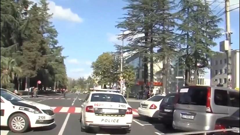 СМИ: в Грузии задержали захватившего заложников в банке