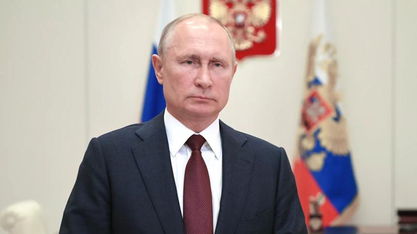 Путин заявил об отсутствии планов вводить жёсткие ограничения в стране