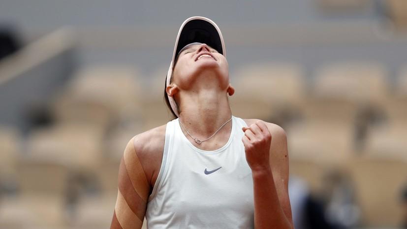 Кудерметова обыграла Плишкову и вышла в 1/4 финала турнира WTA в Остраве
