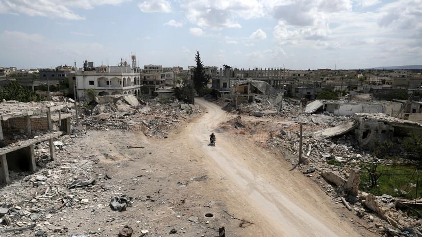 Террористы совершили 40 обстрелов в идлибской зоне деэскалации в Сирии