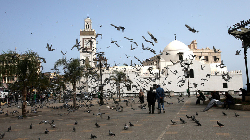 Число случаев коронавируса в Алжире достигло 55 357