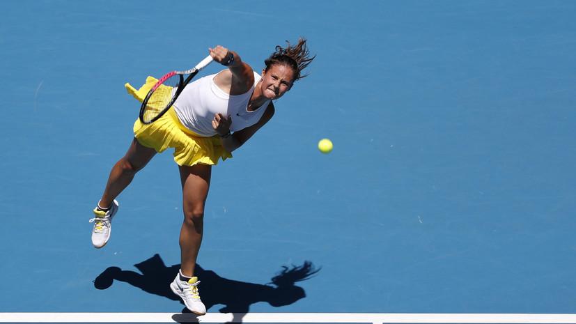 Касаткина проиграла Брэйди во втором круге турнира WTA в Остраве