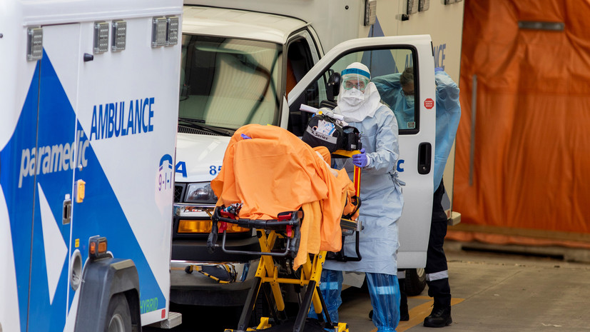 Число случаев коронавируса в Канаде достигло 209 148