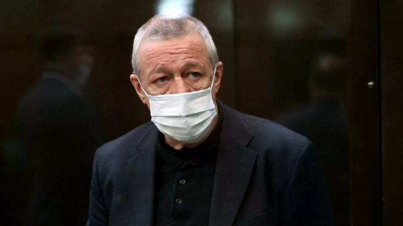 В ОНК сообщили, что Ефремов после приговора содержится в прежней камере СИЗО