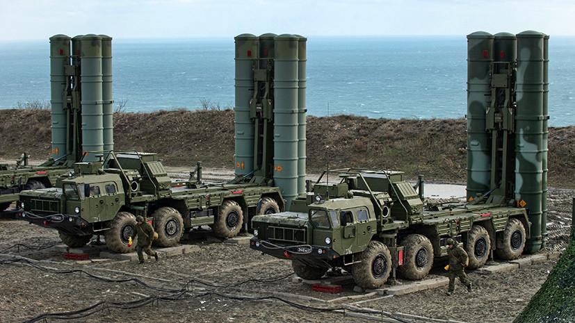 Эрдоган подтвердил испытания российских С-400 в Турции