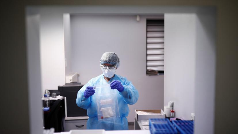 Число выявленных случаев коронавируса во Франции превысило 1 млн