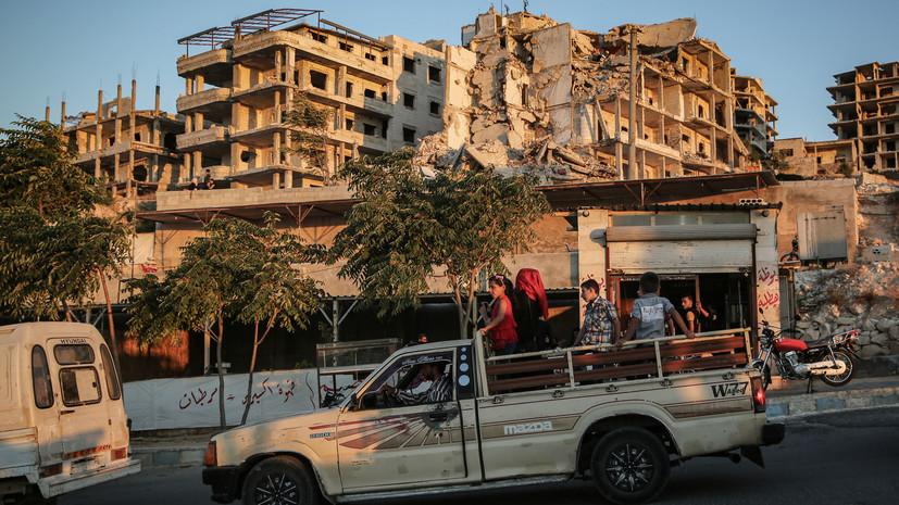 Террористы совершили 33 обстрела в идлибской зоне деэскалации в Сирии