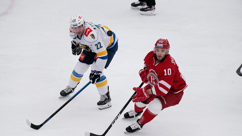 «Сочи» обыграл «Витязь» и прервал серию из шести поражений в КХЛ